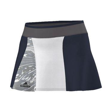 adidas Stella McCartney NY Barricade Skirt - Navy/Grey/White