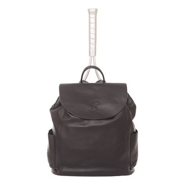 Sofibella Leather Backpack- Black