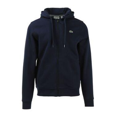Lacoste Sport Full Zip Fleece Jacket - Navy