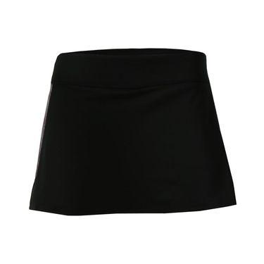 Prince Knit Skirt - Black/Pink Space Dye