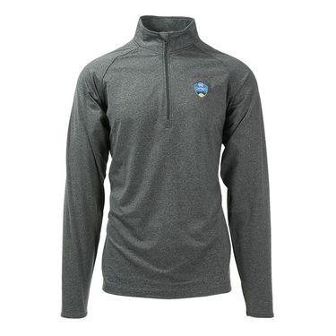 W&S Open 1/4 zip Pullover - Charcoal Grey