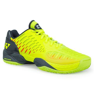 Yonex Power Cushion Eclipsion Clay Mens Tennis Shoe - Yellow