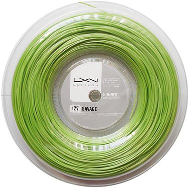 Luxilon Savage Lime 127 REEL (660ft)