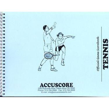 Accuscore Tennis Score Book CTSBK