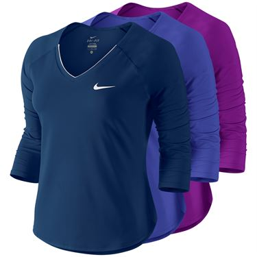 Nike Pure 3/4 Sleeve Top