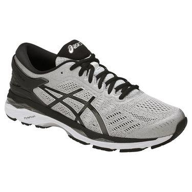 Asics Gel Kayano 24 Mens Running Shoe - Silver/Black