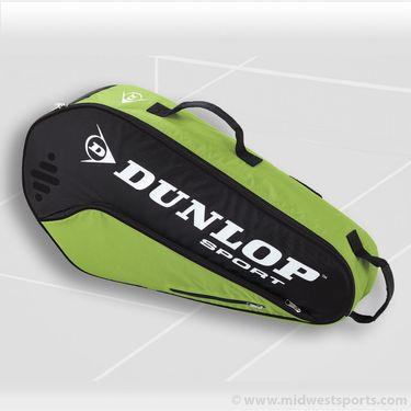 Dunlop Biomimetic Tour 3 Pack Green Tennis Bag