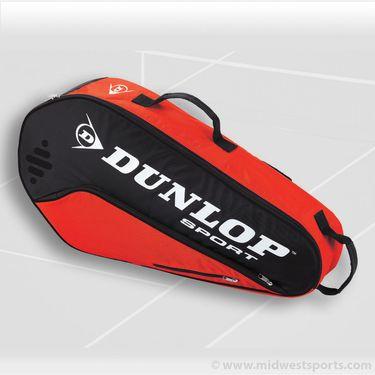 Dunlop Biomimetic Tour 3 Pack Red Tennis Bag