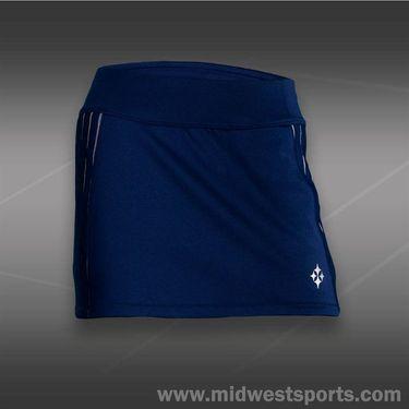 JoFit Kona Rally Tennis Skirt-Blue Depth