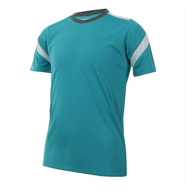 Fila Boys Linear Pieced Crew - Aqua Blue