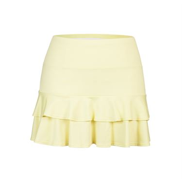 Tail Spring Blooms Double Tiered Skirt - Yellow
