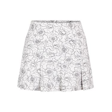 Tail Spring Blooms 13.5 Inch Paneled Skirt - Rosa Print