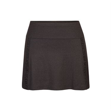Tail Spring Blooms 14.5 Inch A Line Skirt - Black Heather