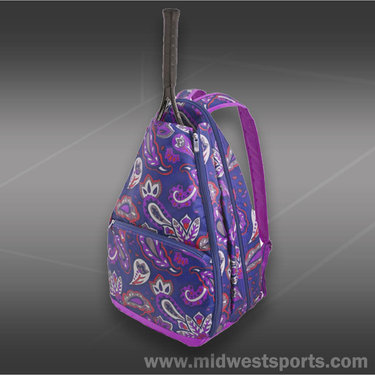 All For Colors Vivid Paisley Tennis Backpack