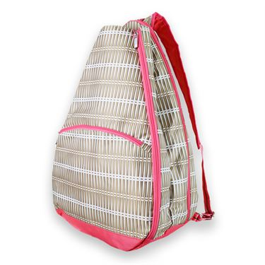 All For Color Tennis Backpack - Khaki Rattan