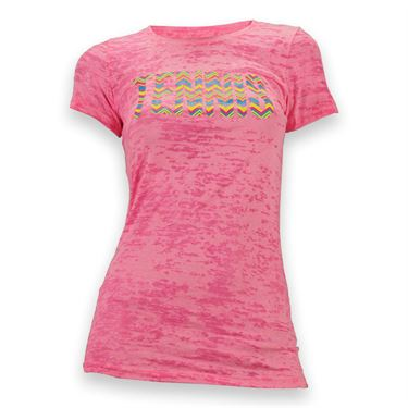 Love All Chevron Tennis T-Shirt