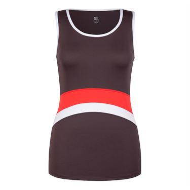 Tail Painted Desert Scoop Neck Tank - Cashmere