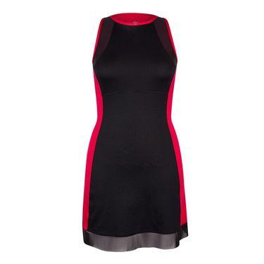 Tail Serves Up Racerback Dress- Matador Pink/Black