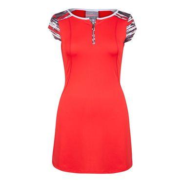 Tail Painted Desert Zipper Dress - Firefly/Brush Stroke