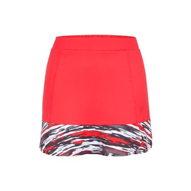 Tail Painted Desert Flounce Skirt - Firefly/Brush Stroke