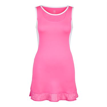 Tail Shocking Siren Ruffled Dress - Siren Pink