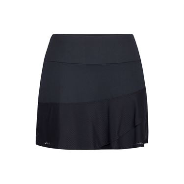 Tail Shocking Siren Flounce Skirt - Black