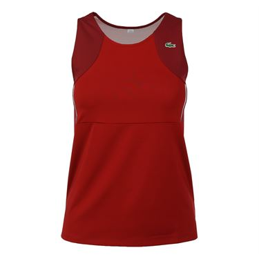 Lacoste Stretch Jersey Tank Tee - Lady Bird