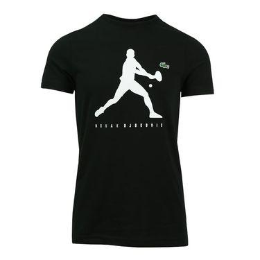 LacosteDjokovic Tee Shirt - Black