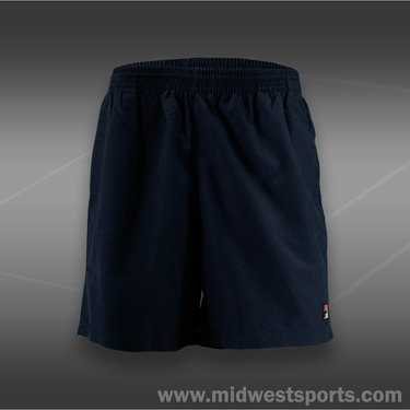 Fila Mens Essenza Hard Court 7-Inch Short-Peacoat Blue