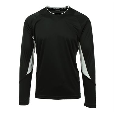Fila Core Long Sleeve Crew - Black/White