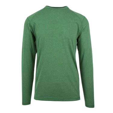 Tasc Carrollton Long Sleeve Tee - Mossy Heather
