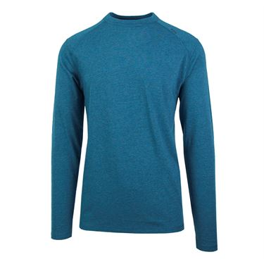 Tasc Carrollton Long Sleeve Tee - Marina Heather