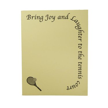 Lite Line Note Pad- Joy and Laughter TN11-19