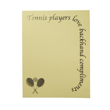 Lite Line Note Pad- Backhanded Compliments TN11-21