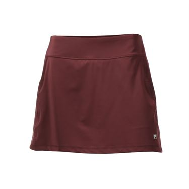 Fila Core A Line Skirt - Team Maroon