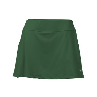 Fila Core A Line Skirt - Forest Green