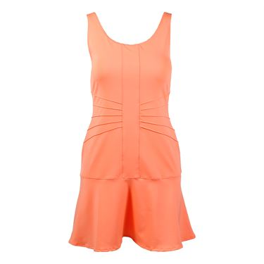 Fila Lawn Dress - Furo Coral