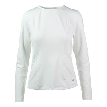 Fila Lawn Long Sleeve Top - White