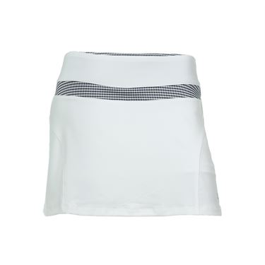Fila Gingham Skirt - White