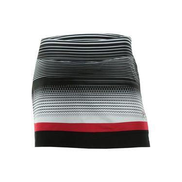 Fila Heritage Skirt - Heritage Stripe/Black/Crimson