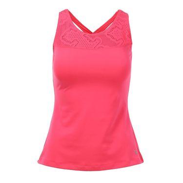 Fila Lure of the Lace Criss Cross Back Tank - Pink Flamingo