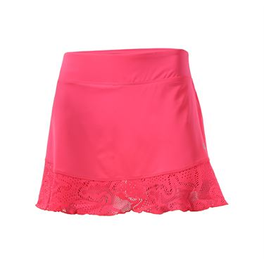 Fila Lure of the Lace Flounce Skirt - Pink Flamingo