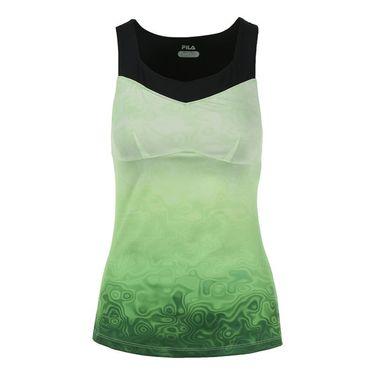Fila Court Couture Print Tank - Pistachio/Black