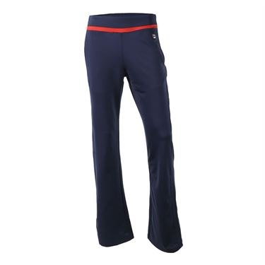 Fila Heritage Pant - Navy/Chinese Red