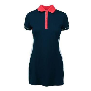 Fila Heritage Polo Dress - Navy