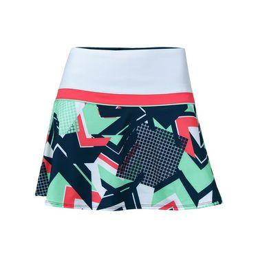 Fila Heritage Colorblocked Skirt - White/Retro Print/Diva Pink/Mint