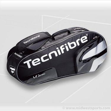 Tecnifibre VO2 Max Black 6 Pack Tennis Bag