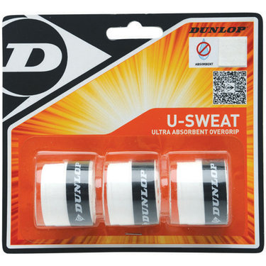 Dunlop U Sweat Tennis Overgrip 3 Pack