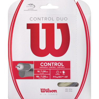 Wilson *HYBRID* Ultimate Duo Luxilon ALU Power(main) - NXT Tour(cross)