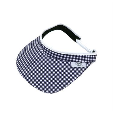 Glove It Visor - Black/White Gingham